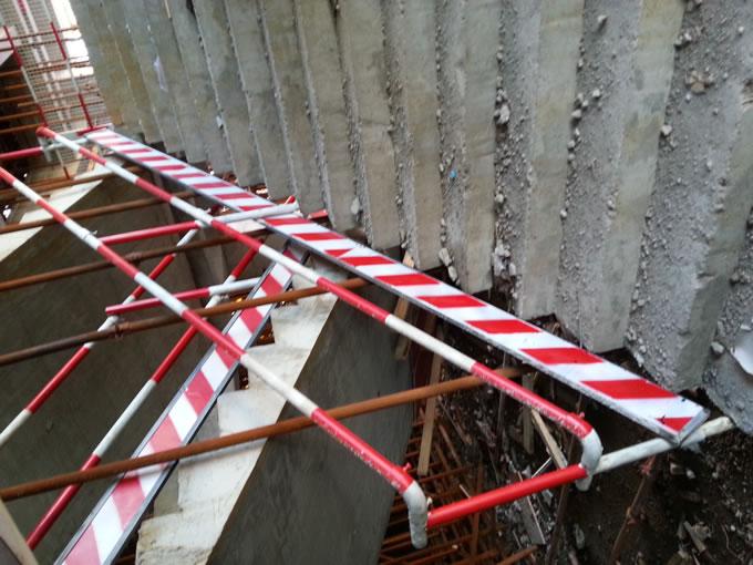 组装式楼梯临时栏杆